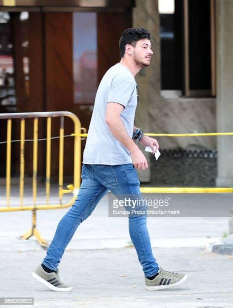 Luis Cepeda is seen on June 27 2018 in Madrid Spain