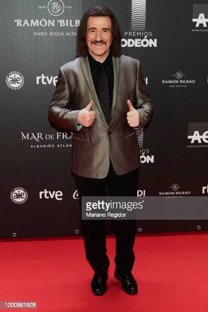 Luis Cobos attends Odeon Awards 2020 at Royal Theater on January 20 2020 in Madrid Spain