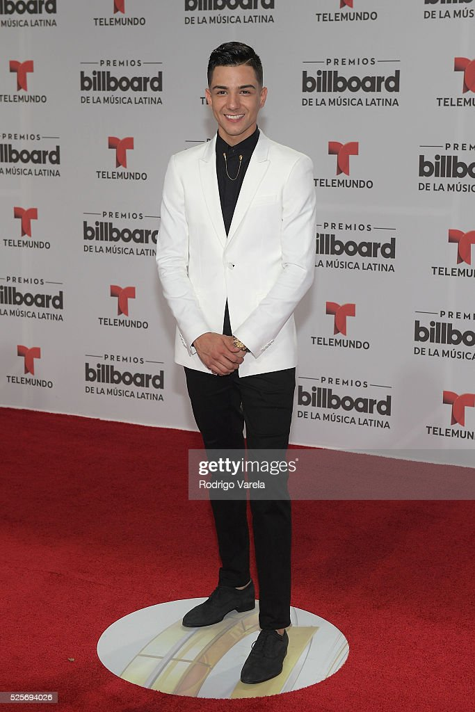 Luis Coronel Attends The Billboard Latin Music Awards At Bank United
