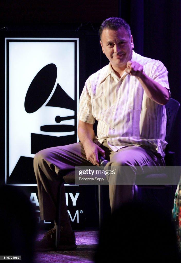 Luis Correa speaks onstage at History of LA Ska at The GRAMMY Museum on September 13, 2017 in Los Angeles, California.