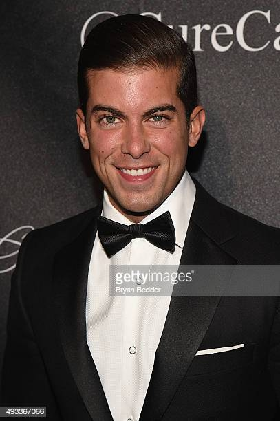 Luis D Ortiz attends Angel Ball 2015 hosted by Gabrielle's Angel Foundation at Cipriani Wall Street on October 19 2015 in New York City