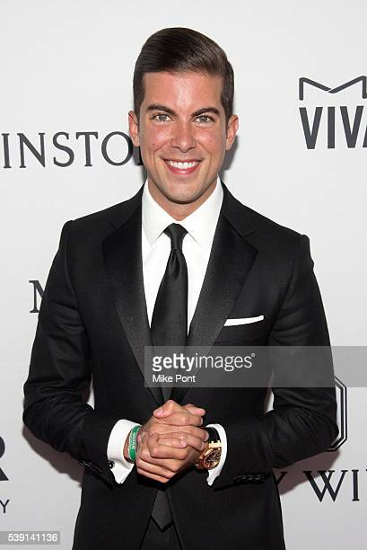 Luis D Ortiz attends the 7th Annual amfAR Inspiration Gala New York at Skylight at Moynihan Station on June 9 2016 in New York City