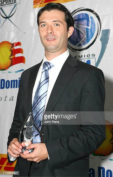 Luis Diaz during 2005 Premios Fox Sports Press Room at Jackie Gleason Theater in Miami Beach Florida United States