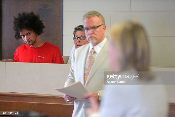 Luis Diaz is arraigned in Suffolk County Superior Court on a murder charge among others He listened through his interpreter as Assistant District...