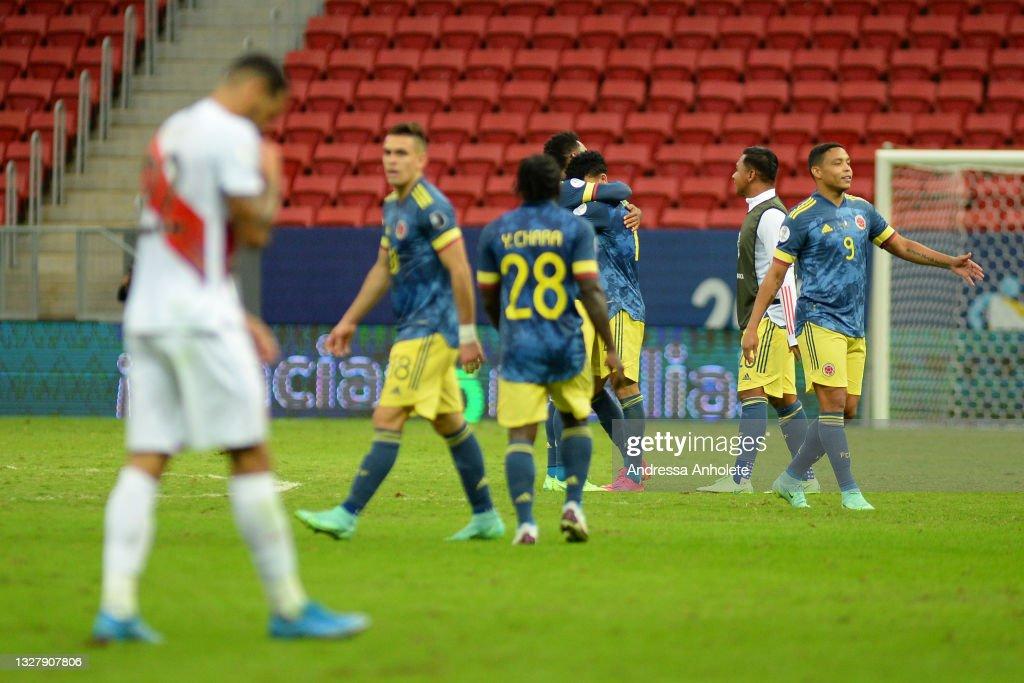 Peru v Colombia: Third Place Play Off - Copa America Brazil 2021 : News Photo
