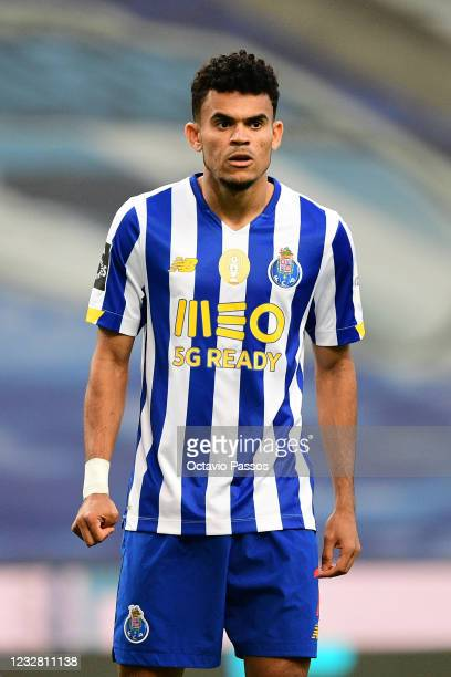 Luis Diaz of FC Porto in action during the Liga NOS match between FC Porto and SC Farense at Estadio do Dragao on May 10, 2021 in Porto, Portugal....