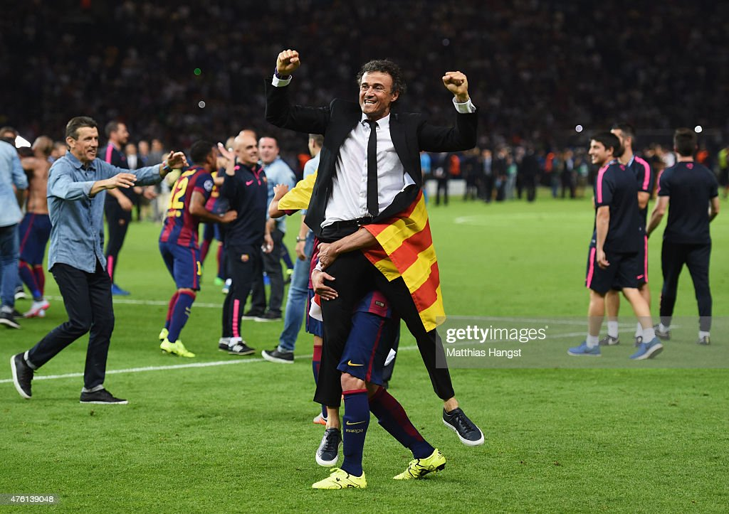 Juventus v FC Barcelona  - UEFA Champions League Final : News Photo