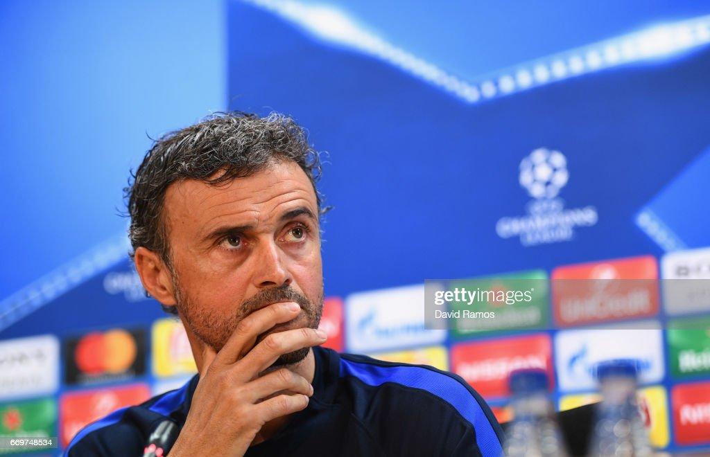 FC Barcelona - Training & Press Conference : ニュース写真