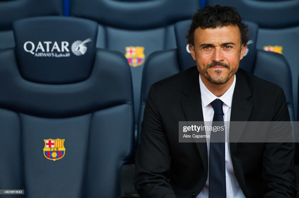 Luis Enrique Unveiled As New Barcelona Coach