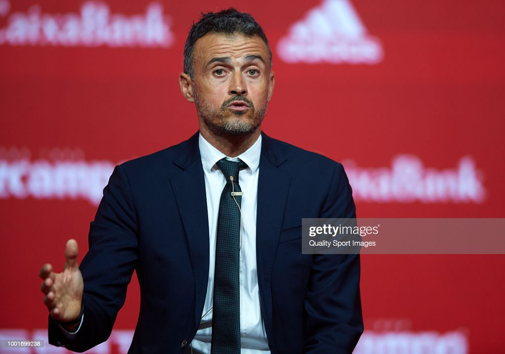 Luis Enrique Presented As New Manager of Spain National Football Team