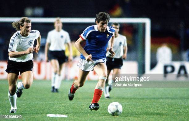 Luis Fernandez of France during the International Friendly match between FRG Federal Republic of Germany and France on august 12 1987 in Berlin...