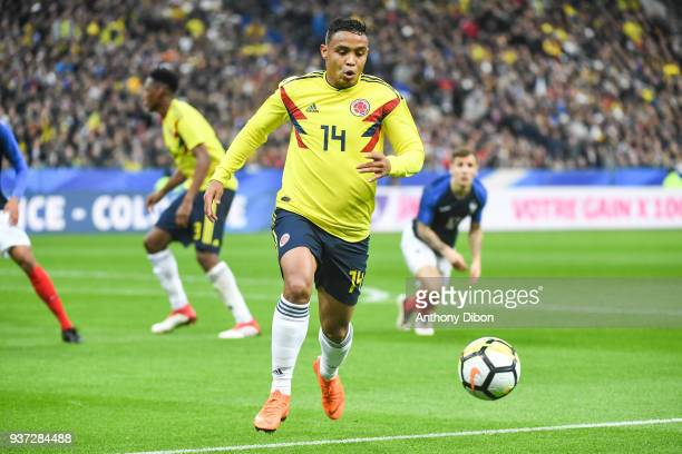 Luis Fernando Muriel of Colombia during the International friendly match between France and Colombia on March 23 2018 in Paris France