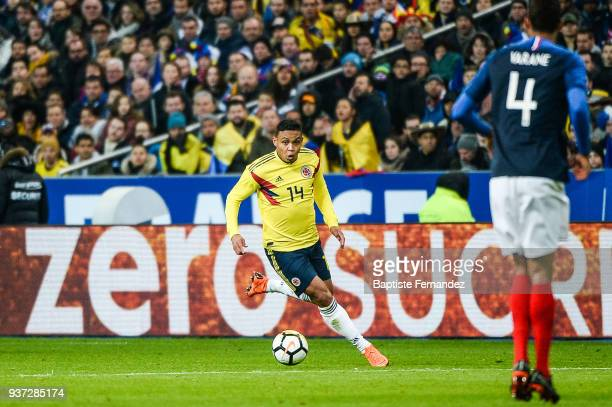 Luis Fernando Muriel of France during the International friendly match between France and Colombia on March 23 2018 in Paris France