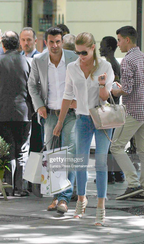 Celebrities Sighting In Madrid - June 17, 2015 : News Photo