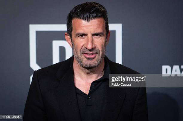 Luis Figo attends DAZN 1st anniversary event at Callao Cinema on February 27 2020 in Madrid Spain