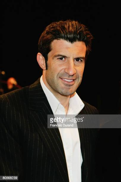 Luis Figo attends 'The Crossing' gala event hosted by IWC Schaffhausen held at the Geneva Palaexpo on April 8, 2008 in Geneva, Switzerland.