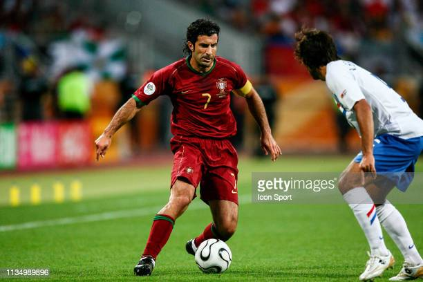 Luis FIGO during FIFA world cup match between Netherlands and Portugal at Frankenstadion, Nuremberg, Germany on 25th June 2006.