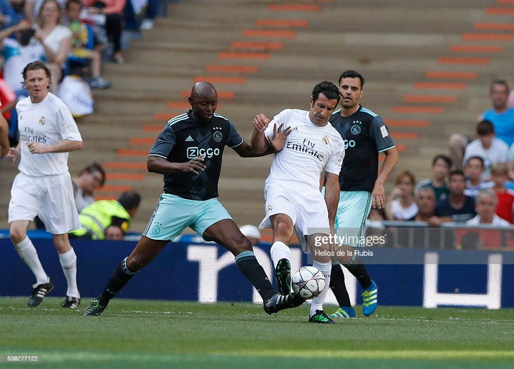 Real Madrid Legends v Ajax Legends  Corazon Classic Charity Match 2016
