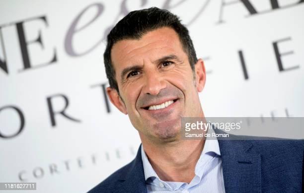 Luis Figopresents new Cortefiel campaign at Los Gallos on October 17 2019 in Madrid Spain