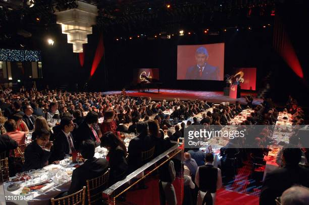 Luis Filipe Vieira Benfica's chairman during the SL Benfica 103rd Birthday Gala Party at the Casino Estoril Several Benfica's personalities were...