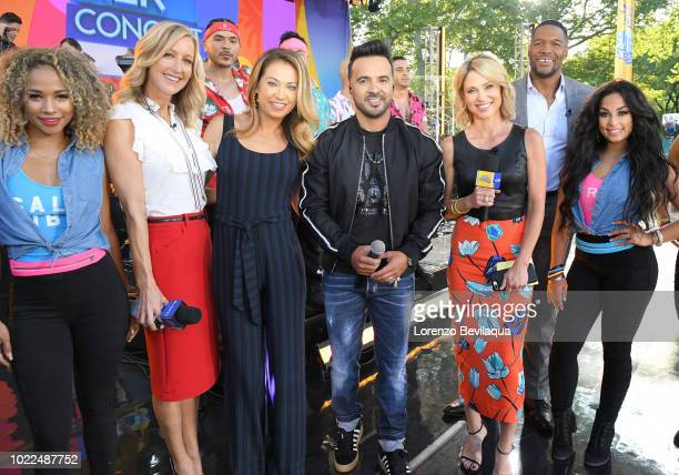 AMERICA Luis Fons performs live from Central Park as part of the GMA Summer Concert Series on Good Morning America Friday August 24 airing on the...