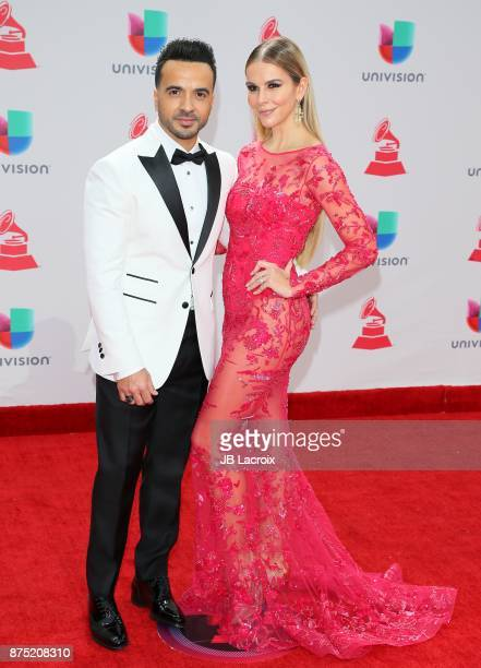 Luis Fonsi and Agueda Lopez attend the 18th Annual Latin Grammy Awards on November 16 2017 in Las Vegas Nevada