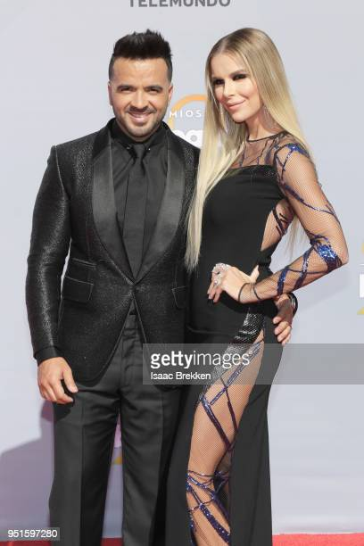 Luis Fonsi and Agueda Lopez attend the 2018 Billboard Latin Music Awards at the Mandalay Bay Events Center on April 26 2018 in Las Vegas Nevada