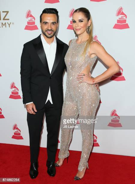 Luis Fonsi and Agueda Lopez attend the Latin Recording Academy's 2017 Person Of The Year Gala on November 15 2017 in Las Vegas California