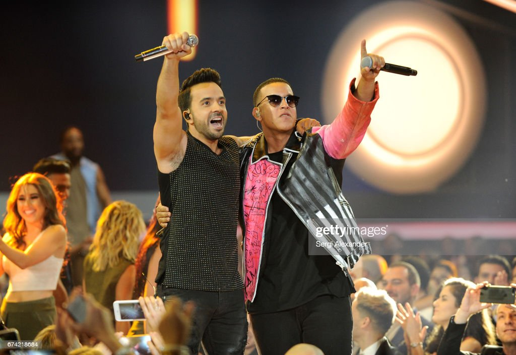 Luis Fonsi and Daddy Yankee received three nominations - Record of the Year, Song of the Year, Best Pop Duo/Group Performance