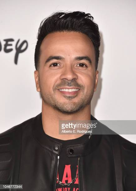 Luis Fonsi attends Mickey's 90th Spectacular at The Shrine Auditorium on October 6 2018 in Los Angeles California