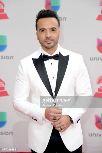 Luis Fonsi attends the 18th Annual Latin Grammy Awards at MGM Grand Garden Arena on November 16 2017 in Las Vegas Nevada