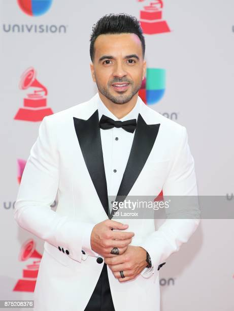 Luis Fonsi attends the 18th Annual Latin Grammy Awards on November 16 2017 in Las Vegas Nevada