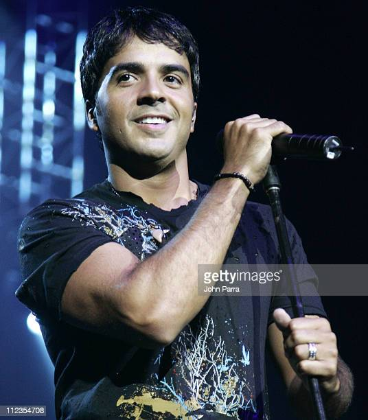 Luis Fonsi during Luis Fonsi in Concert June 21 2006 at Hard Rock Live in Hollywood Florida United States