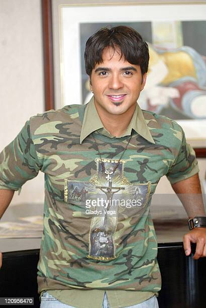 Luis Fonsi during Luis Fonsi Potrait Session July 11 2005 at Wyndham El San Juan Hotel in San Juan Puerto Rico Puerto Rico