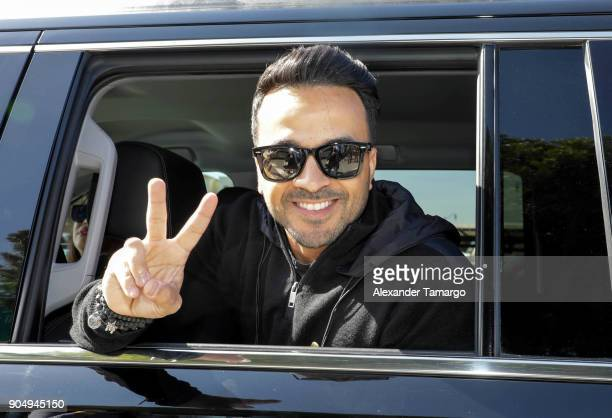 Luis Fonsi is seen at the 2018 Three Kings Day Parade on January 14 2018 in Miami Florida