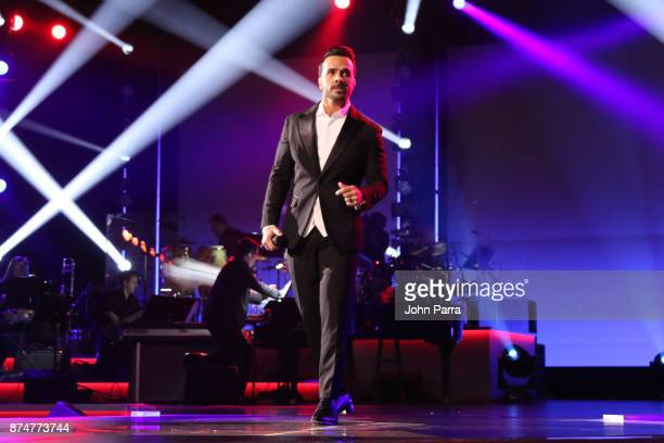 Luis Fonsi performs onstage during the 2017 Person of the Year Gala honoring Alejandro Sanz at the Mandalay Bay Convention Center on November 15 2017...