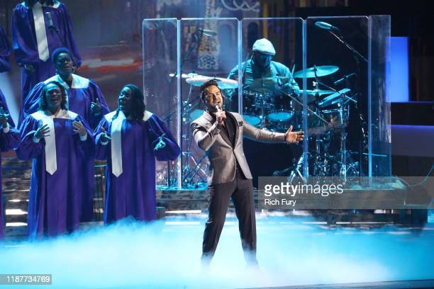 Luis Fonsi performs onstage during the 20th annual Latin GRAMMY Awards at MGM Grand Garden Arena on November 14 2019 in Las Vegas Nevada