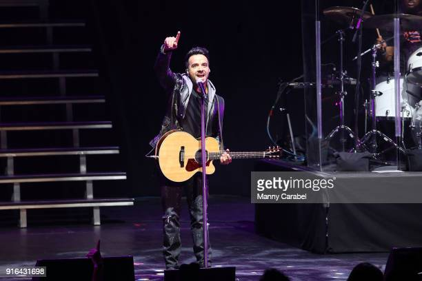 Luis Fonsi performs onstage during Univision presents Uforia's La X Love Live concert at Radio City Music Hall on February 9 2018 in New York City