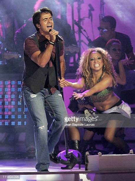 Luis Fonsi performs 'Por Una Mujer' during 2006 Billboard Latin Music Conference and Awards Show at Seminole Hard Rock Hotel and Casino in Hollywood...