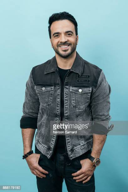 Luis Fonsi poses during a portrait session on day three of the 14th annual Dubai International Film Festival held at the Madinat Jumeriah Complex on...