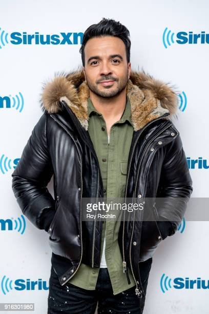 Luis Fonsi visits SiriusXM Studios on February 9 2018 in New York City