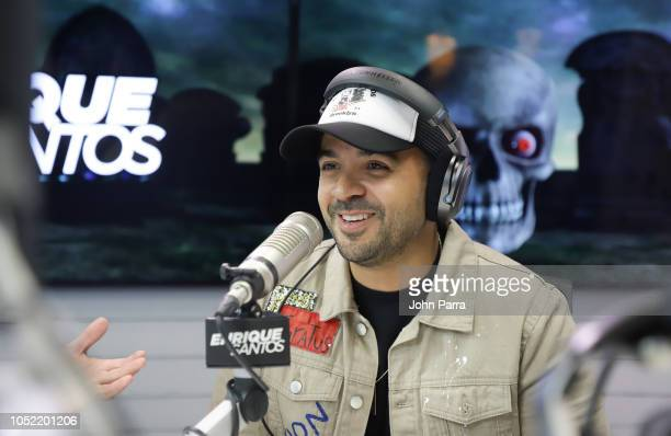 Luis Fonsi visits The Enrique Santos Show At I Heart Latino Studios on October 15 2018 in Miramar Florida