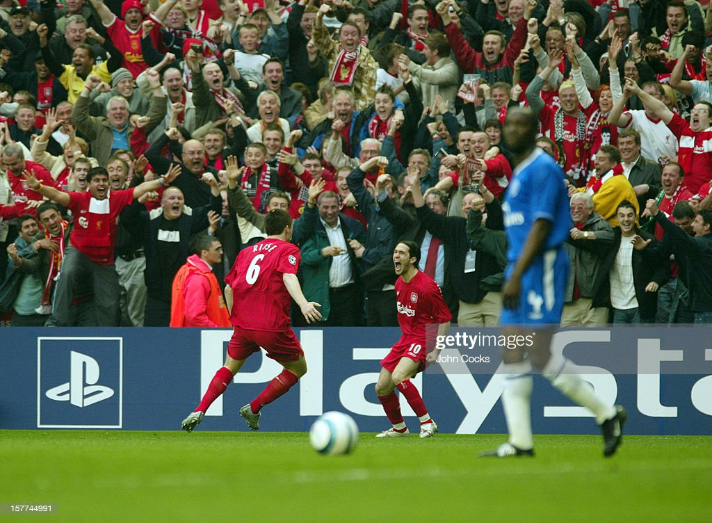 UEFA Champions League Semi Final 2nd Leg 2004/05 - Liverpool v Chelsea : Nachrichtenfoto
