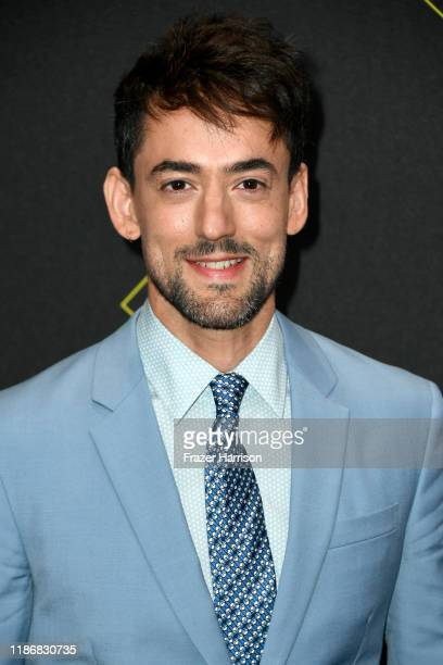 Luis Gerardo Mendez attends the 2019 E People's Choice Awards at Barker Hangar on November 10 2019 in Santa Monica California