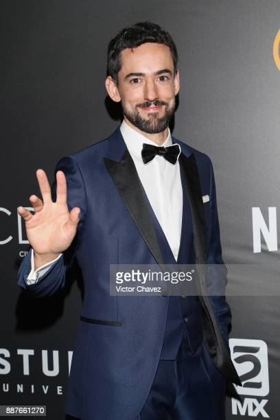 Luis Gerardo Mendez attends the Premio Iberoamericano De Cine Fenix 2017 press room at Teatro de La Ciudad on December 6 2017 in Mexico City Mexico