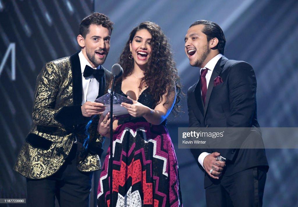 The 20th Annual Latin GRAMMY Awards - Show : News Photo