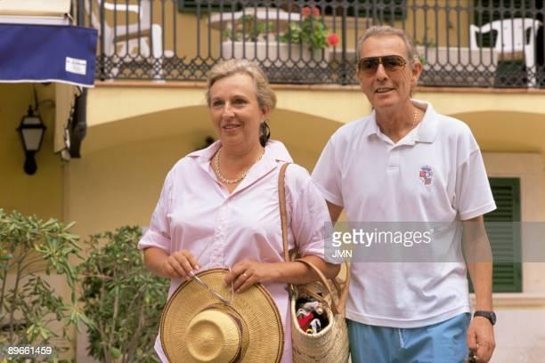 Luis Gomez Acebo and Pilar de Borbon dukes of Badajoz