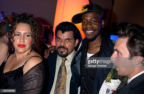 Luis Guzman and castmembers during 55th Annual Primetime Emmy Awards TV Guide 2003 Emmy Party at The Lot Studios in Hollywood California United States