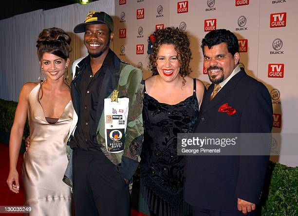 Luis Guzman and castmemebers during 55th Annual Primetime Emmy Awards TV Guide 2003 Emmy Party at The Lot Studios in Hollywood California United...
