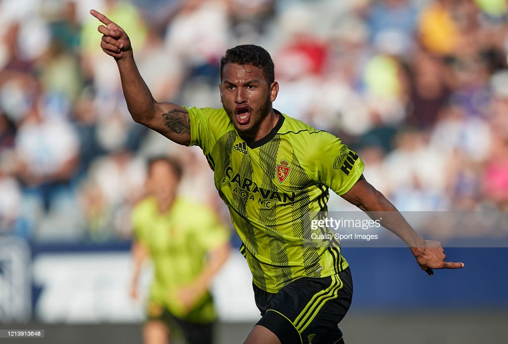 Malaga v Real Zaragoza - La Liga Smartbank : News Photo